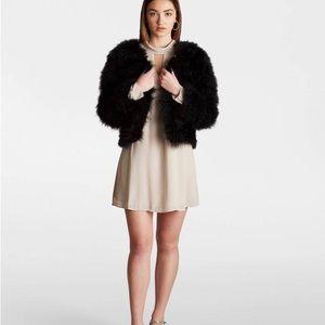 NWOT Ava & kris feather jacket